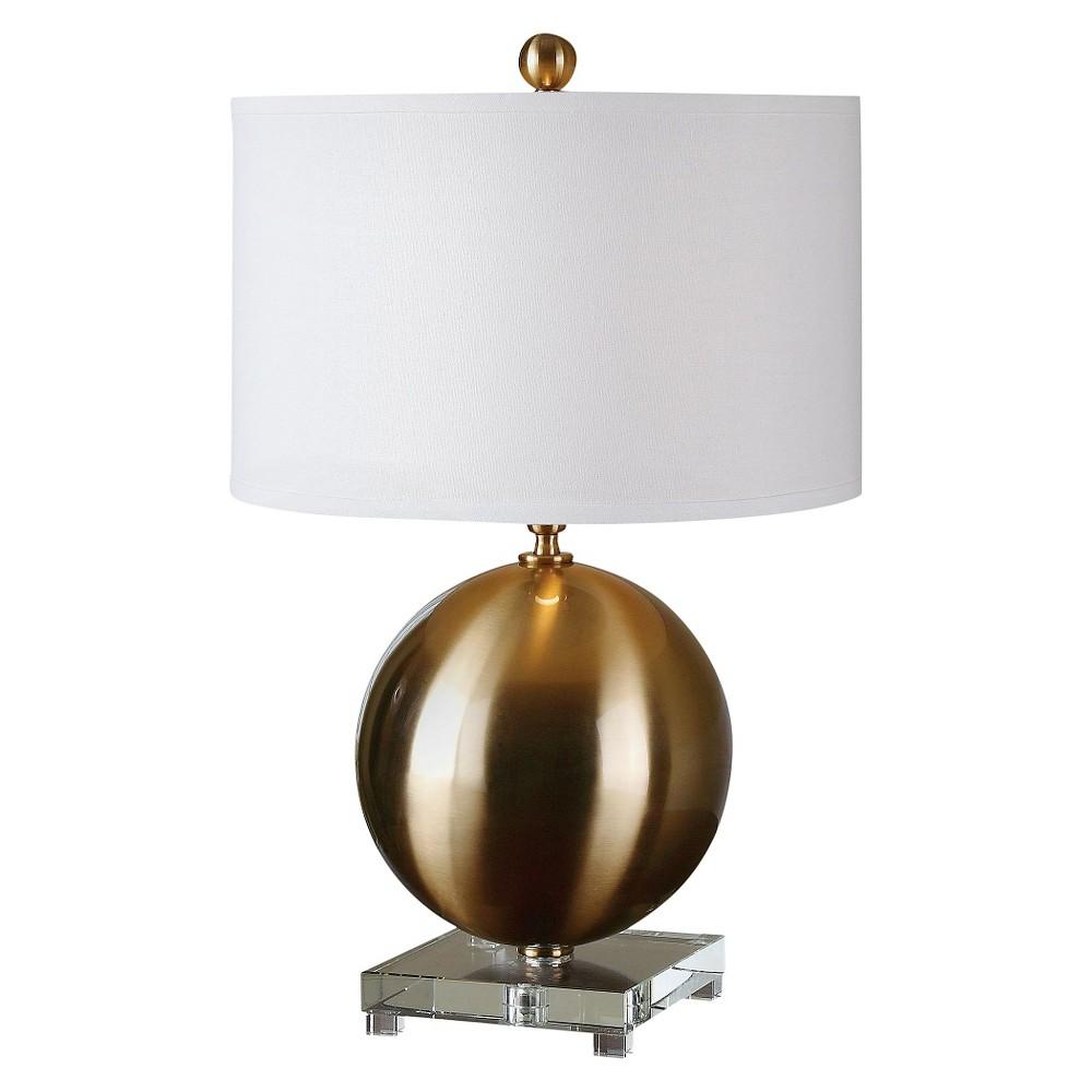 Uttermost Laton Sphere Table Lamp - Brass