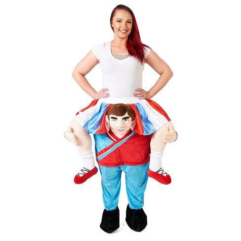 Adult Ride a Cheerleader Costume - image 1 of 3