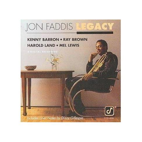 Jon Faddis - Legacy (CD) - image 1 of 1