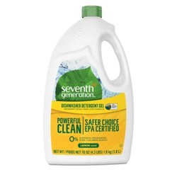 Seventh Generation Lemon Natural Dishwasher Detergent Gel - 70oz
