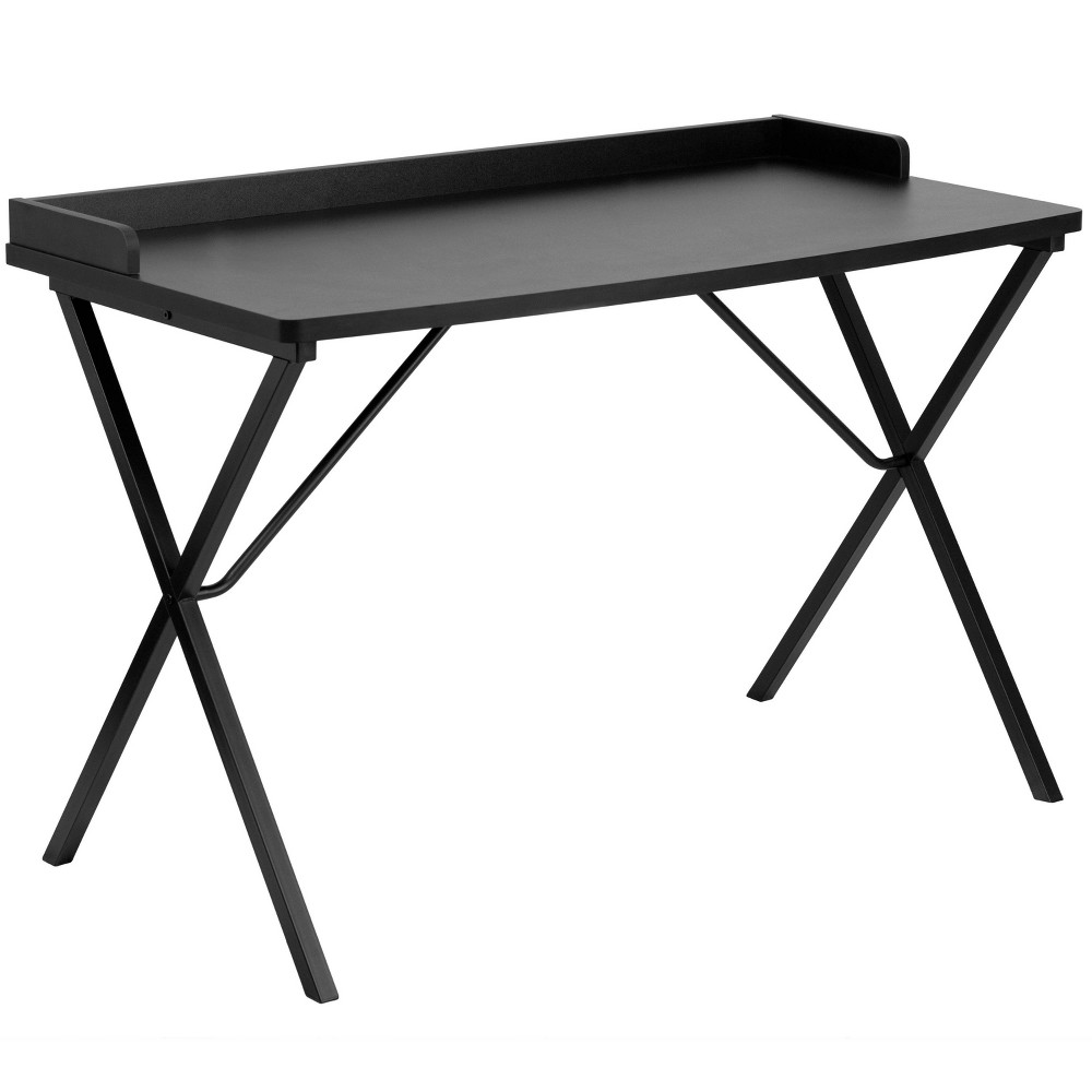 Image of Computer Desk Black - Flash Furniture