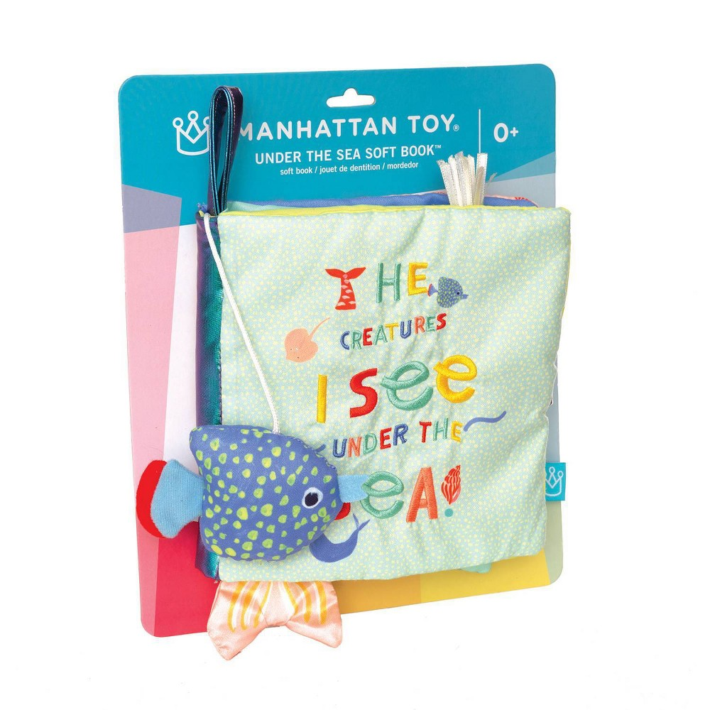 Image of The Manhattan Toy Company Company Under the Sea Soft Book