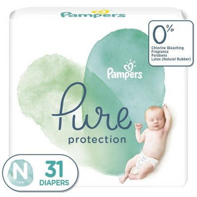 Pampers Pure Protection Diapers Jumbo Pack - Newborn - 31ct