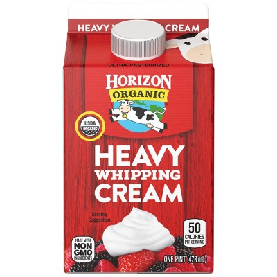 Horizon Organic Heavy Whipping Cream - 1pt