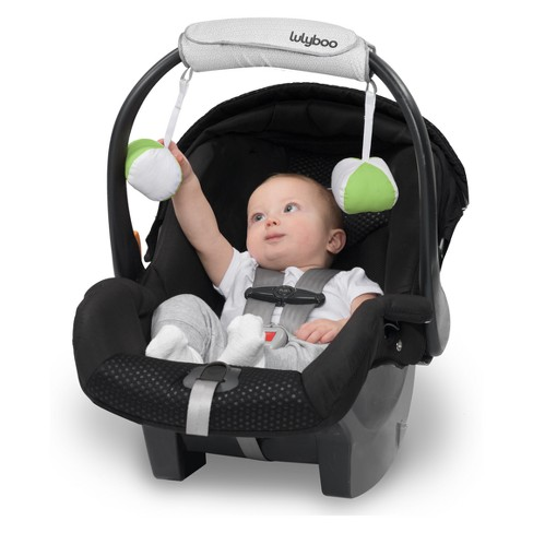 Lulyboo Baby Carrier Arm Handle Cushion For Car Seat And With Toy Hangers Target