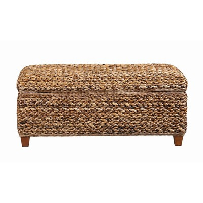 Lakeside Woven Banana Leaf Trunk Rustic Brown - Private Reserve
