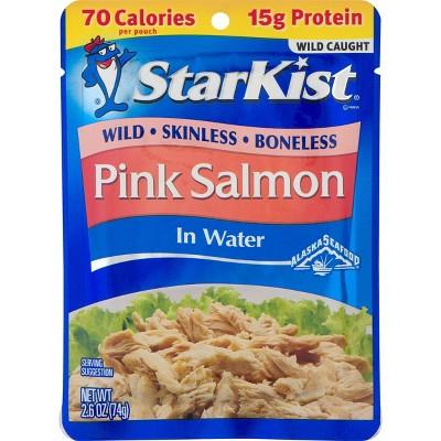 StarKist Skinless Boneless Pink Salmon in Water - 2.6oz