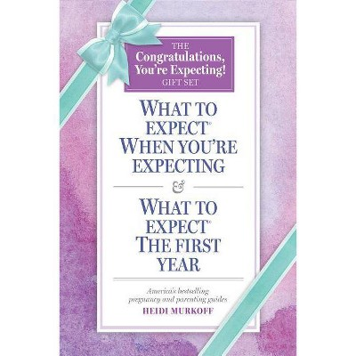 What to Expect: The Congratulations, You're Expecting! Gift Set - by Heidi Murkoff (Paperback)