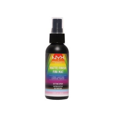 NYX Professional Makeup Limited Edition Pride Long-Lasting Matte Setting Spray - Vegan Formula - 2.03 fl oz