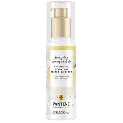 Pantene Damage Repair Nourishing Overnight Restoring Serum - 3.2 fl oz