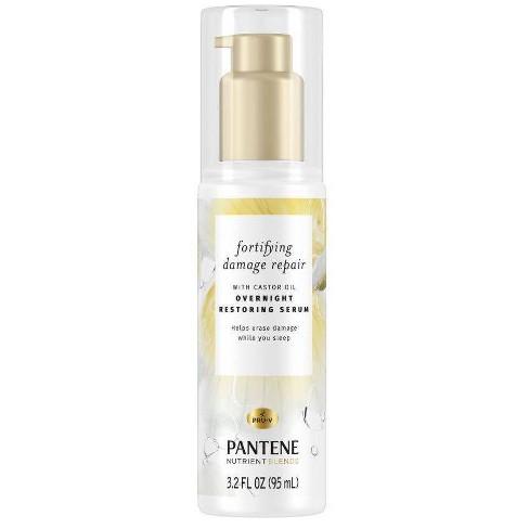 Pantene Damage Repair Nourishing Overnight Restoring Serum - 3.2 fl oz - image 1 of 3