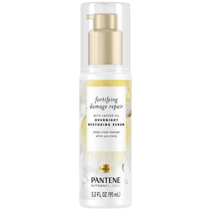 Pantene Damage Repair Nourishing Overnight Restoring Serum - 3.2 Fl Oz : Target