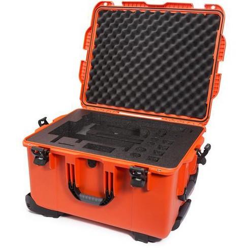 Nanuk 960 Waterproof Hard Case with Wheels for DJI Ronin-MX, Orange - image 1 of 3