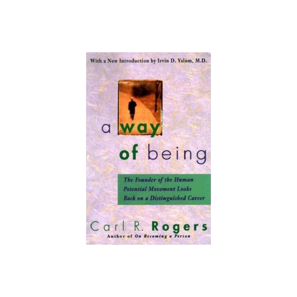 A Way Of Being By Carl Rogers Paperback