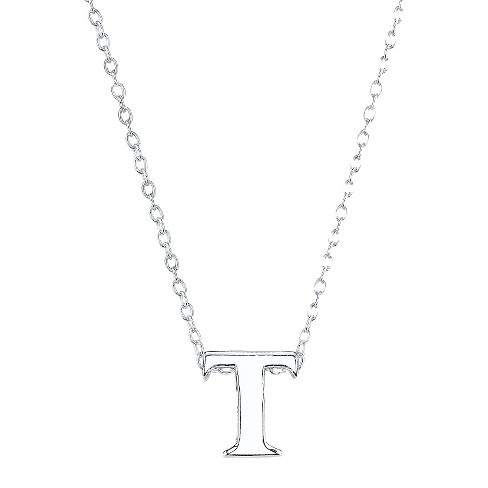 Sterling Small Letter Pendant - image 1 of 1