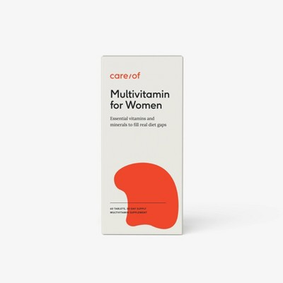 Care/of Multivitamin Supplements for Women - 60ct