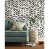RoomMates Willow Magnolia Home Wallpaper Black - image 2 of 2