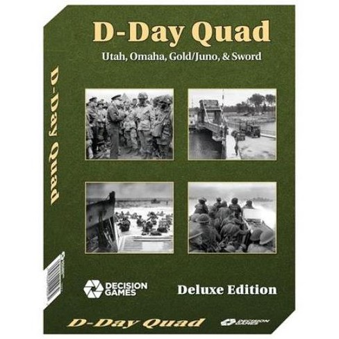 D-Day Quad (Deluxe Edition) Board Game - image 1 of 2