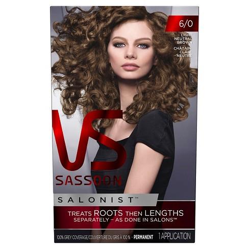 Vidal Sassoon Salonist Hair Color : Target