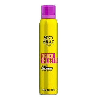 TIGI Bed Head Bigger The Better Volume Foam Shampoo for Fine Hair - 6.8 fl oz