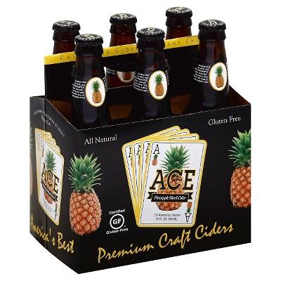 ACE Pineapple Hard Cider - 6pk/12 fl oz Bottles