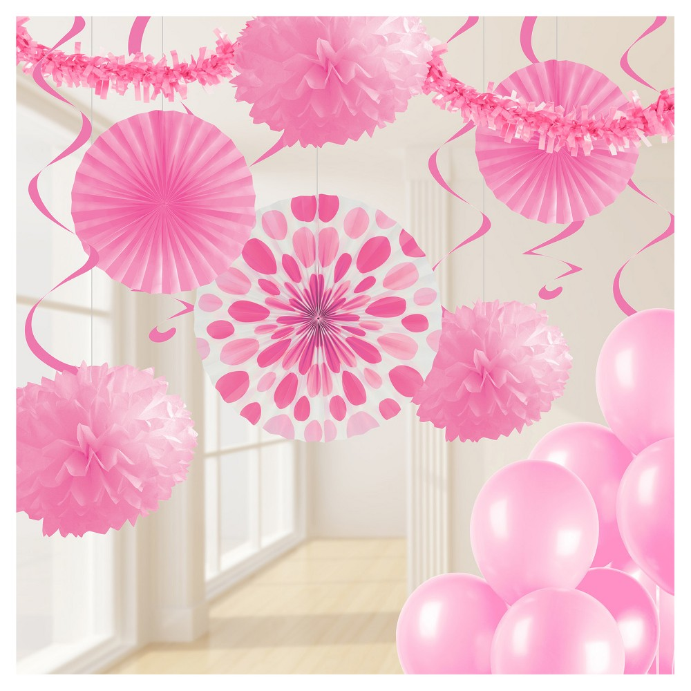 Candy Pink Party Decorations Kit