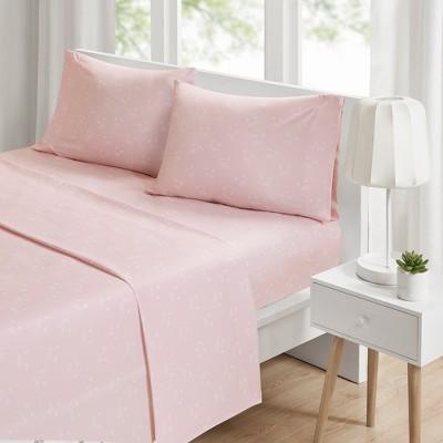 Twin Novelty Printed Sheet Set Pink