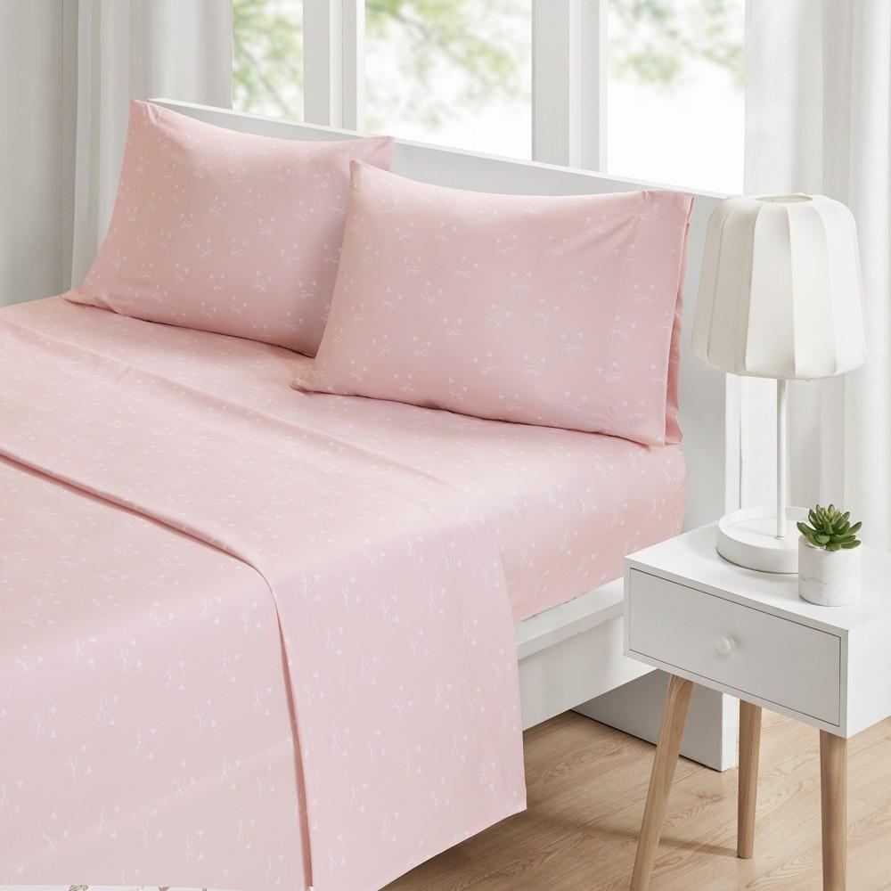 Queen Novelty Printed Sheet Set Pink