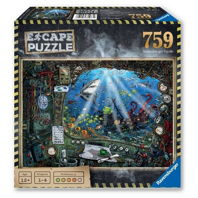Ravensburger Escape Puzzle - Submarine Puzzle 759pc