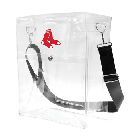 MLB Boston Red Sox Clear Ticket Satchel - image 1 of 4
