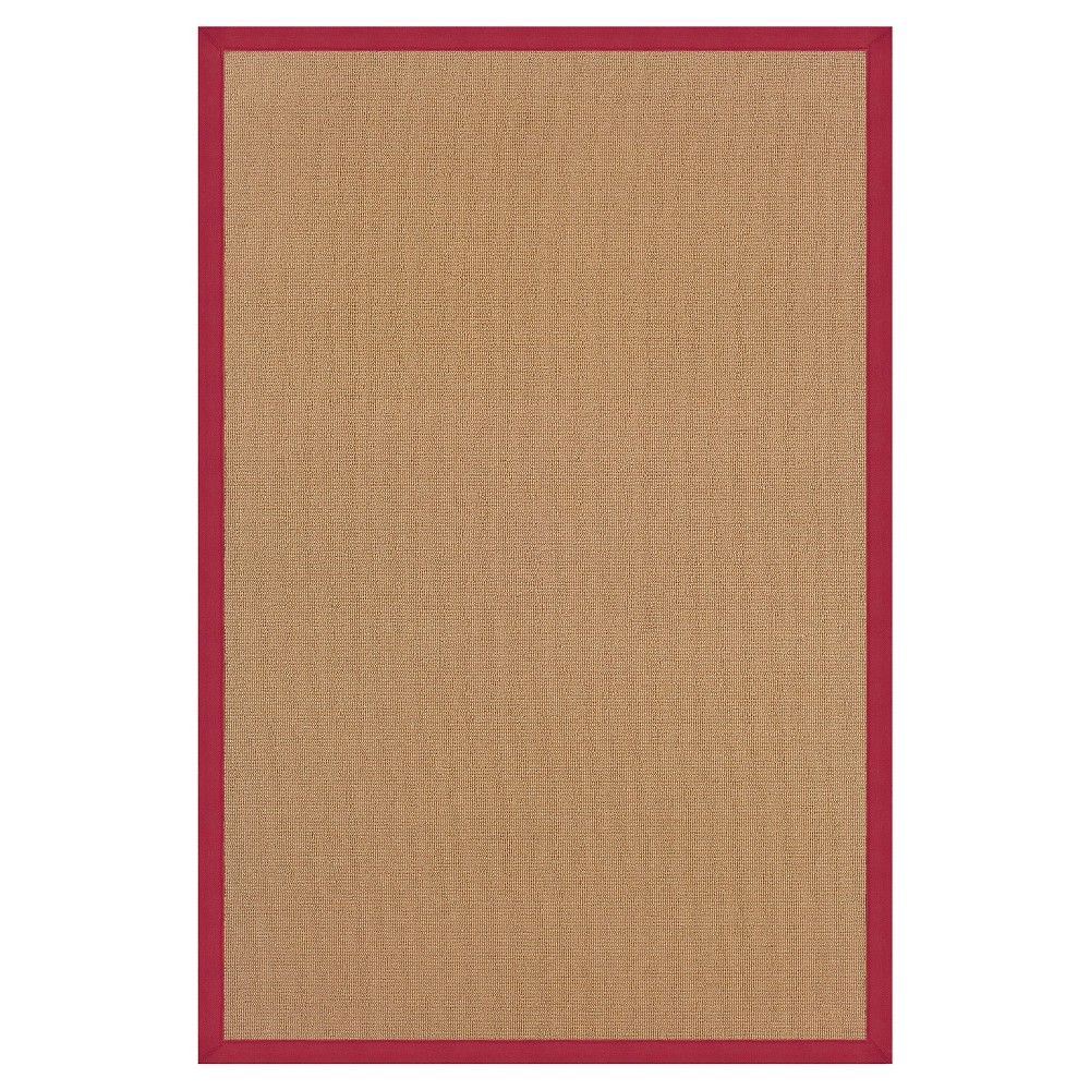 Athena Wool Area Rug - Red (8' X11')
