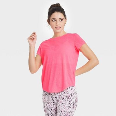 Women's Short Sleeve T-Shirt with Twist Back - JoyLab™