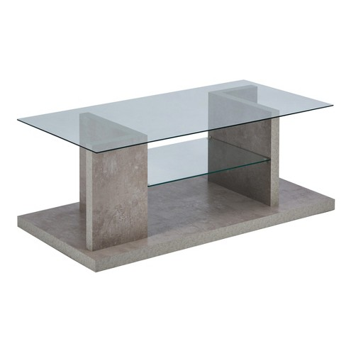 Iohomes Weir Industrial Coffee Table Gray - HOMES: Inside + Out - image 1 of 5