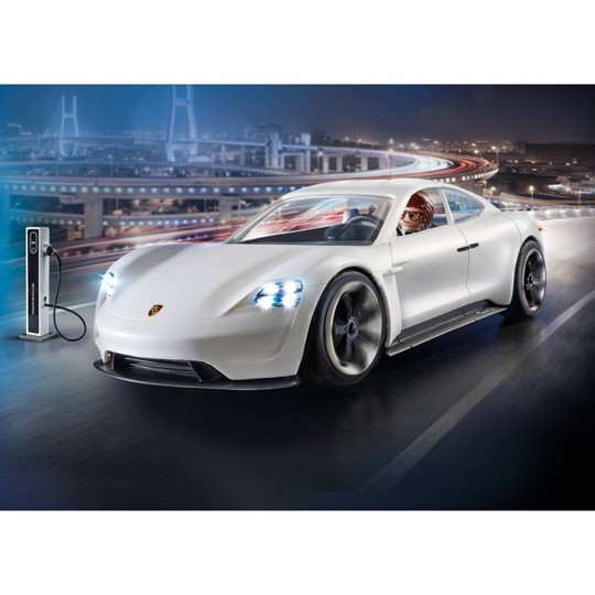 Playmobil Porsche Mission E with Rex Dasher image number null