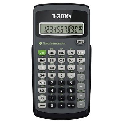 Texas Instruments TI-30Xa Scientific Calculator : Target