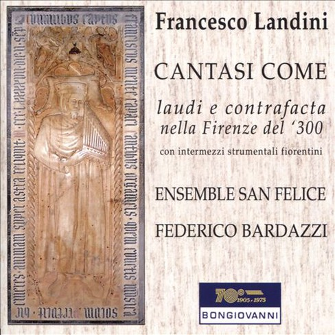 Ensemble san felice - Landini:Lauds & contrafacts in 14th c (CD) - image 1 of 1
