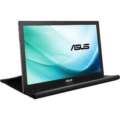 ASUS MB169B+ 15.6 Inch Full HD 1920 x 1080 IPS USB, Portable Monitor - Black / Silver