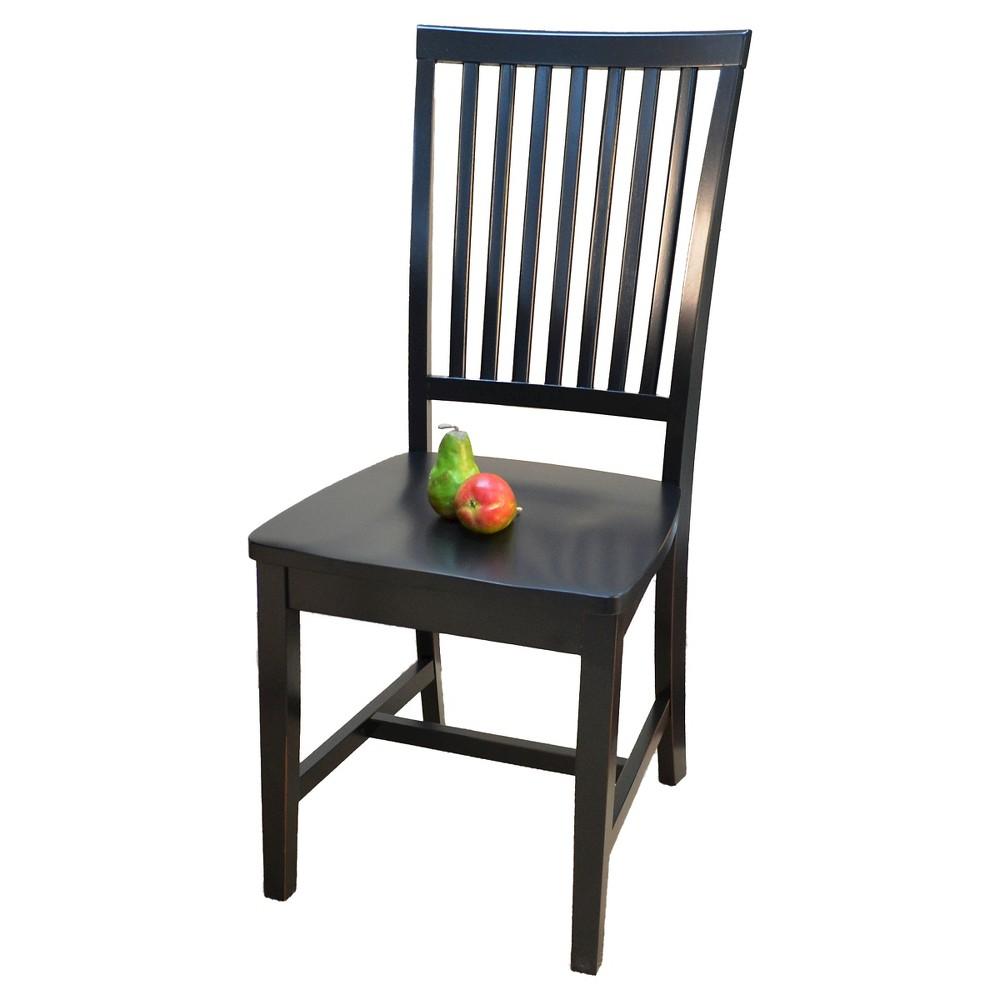 Image of Delano Dining Chair Antique Black - Carolina Cottage