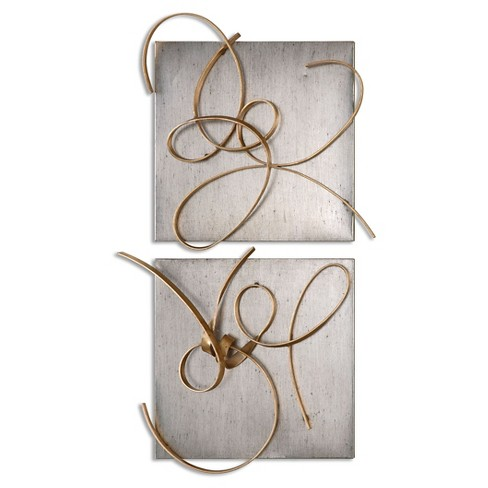 Harmony Metal Wall Art, Set of 2 : Target