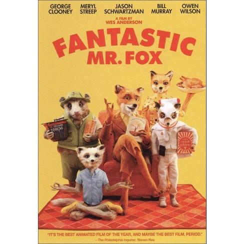 Fantastic Mr Fox Dvd Target