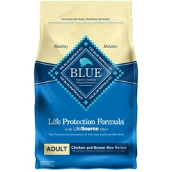 Blue Buffalo Adult Chicken & Brown Rice - Dry Dog Food