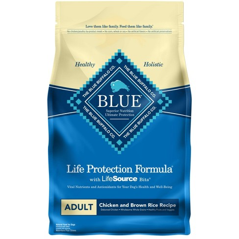 Blue Buffalo Life Protection Chicken & Brown Rice Recipe Adult Dry Dog Food - image 1 of 4
