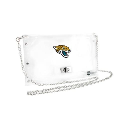 NFL Jacksonville Jaguars Clear Envelope Purse - image 1 of 1
