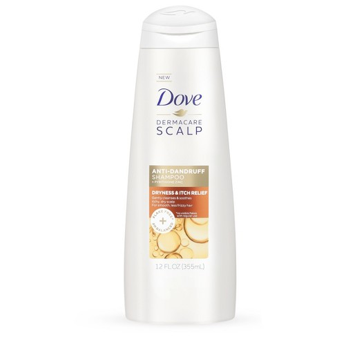 Dove Derma Care Scalp Dryness & Itch Relief Anti Dandruff Shampoo - 12 fl oz - image 1 of 3