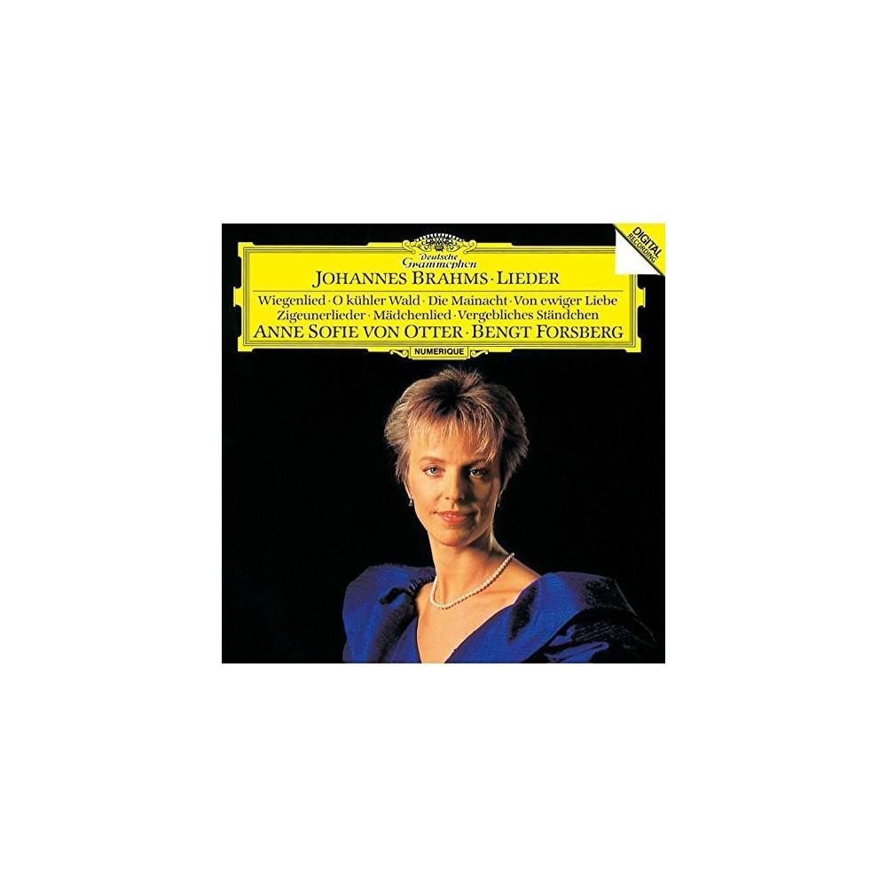 Brahms & Anne-Sofie Von Otter - Brahms: Lieder (CD)