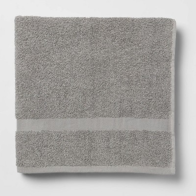 Bath Towel Gray - Room Essentials™