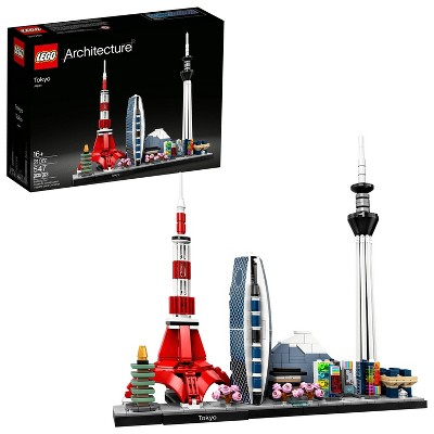 LEGO Architecture Skylines: Tokyo Collectible Architecture Building Set 21051