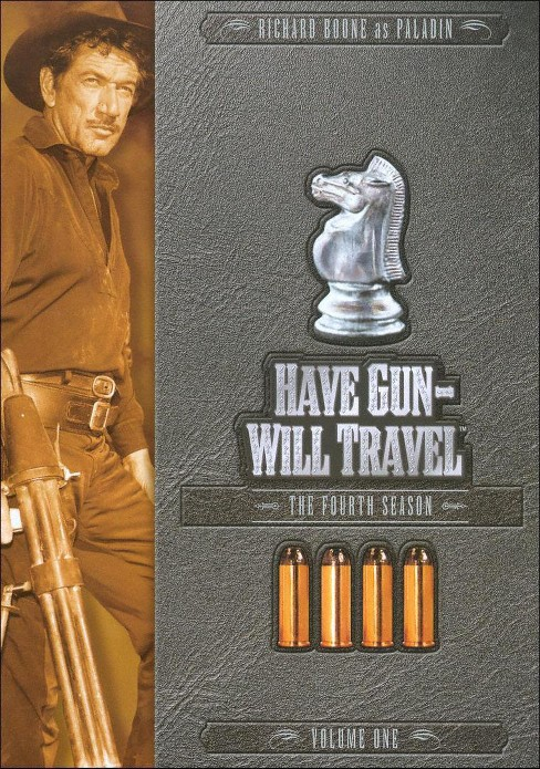 Have gun will travel:Season 4 vol 1 (DVD) - image 1 of 1