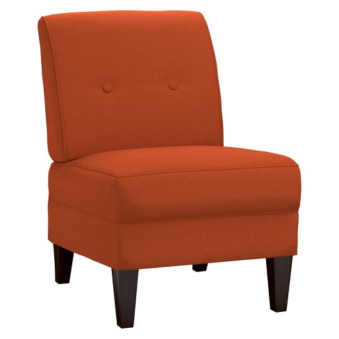 George Linen Armless Chair -  Handy Living - image 1 of 2