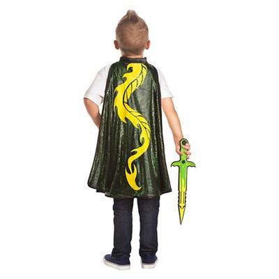 Little Adventures Boys' Adventure Dragon Cape and Sword Set